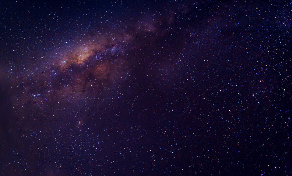 Milky way galaxy with star and space dus