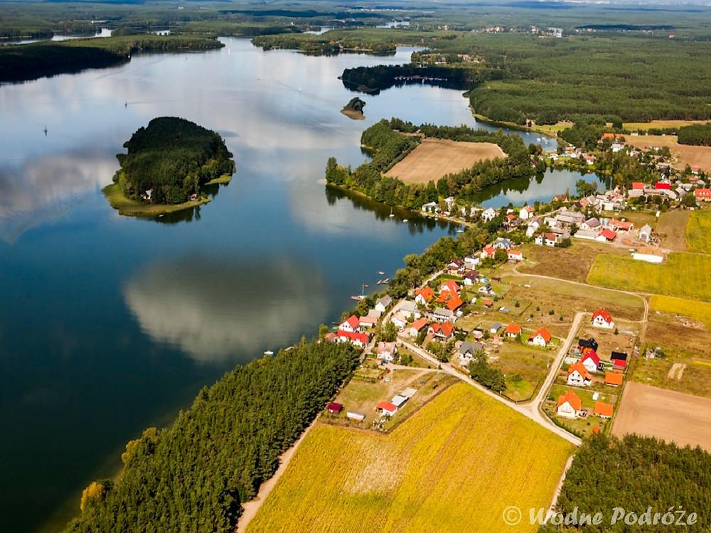 Jezioro Wdzydzkie - panorama