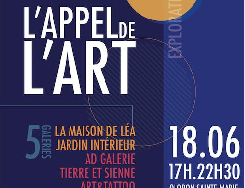 L'APPEL A L'ART DU 18 JUIN 2021 A OLORON STE MARIE