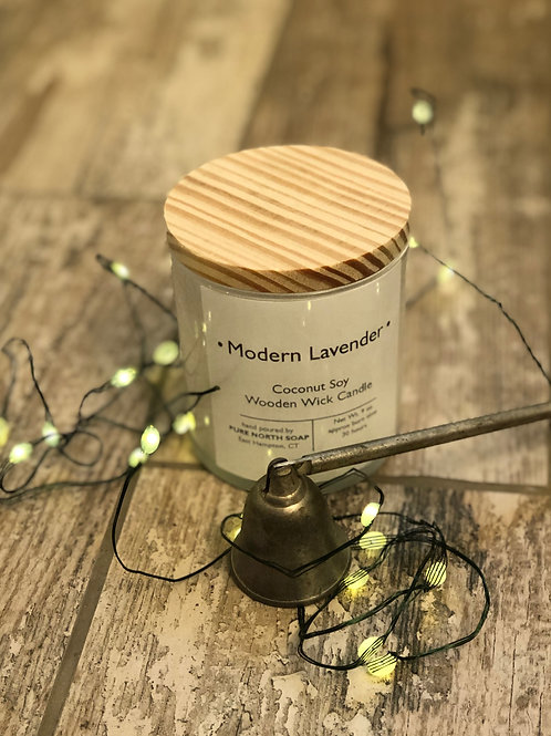 Modern Lavender - Candle