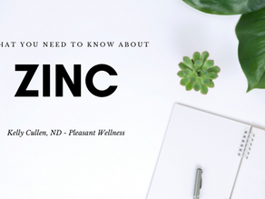 What You Need To Know About Zinc