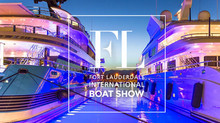 Fort Lauderdale International Boat Show November 1-5, 2017