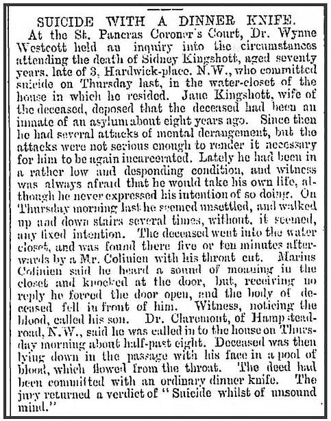 Reynolds Newspaper 30 Oct 1892 Sun Page