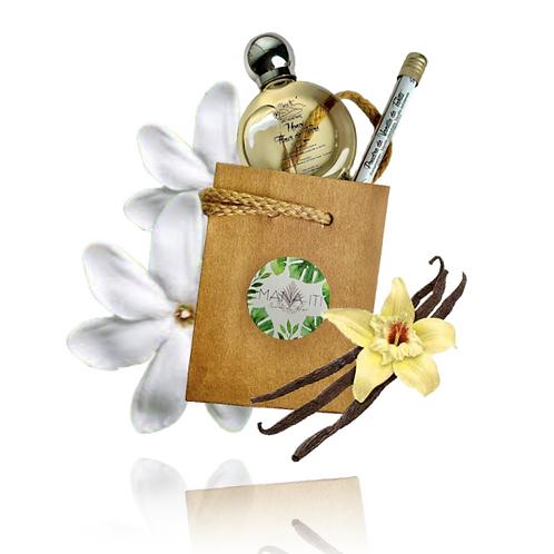 Mini Kit de Gommage Visage Tiare/Vanille