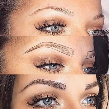 Perfect brows for this babe
