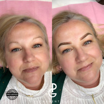 Before & After Ombre Powder Brows
