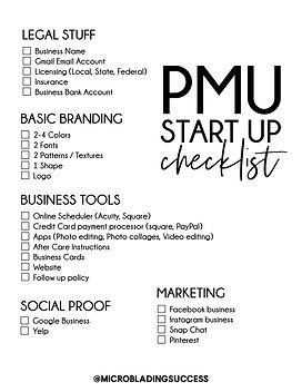PMU-business-checklist-@MICROBLADINGSUCC