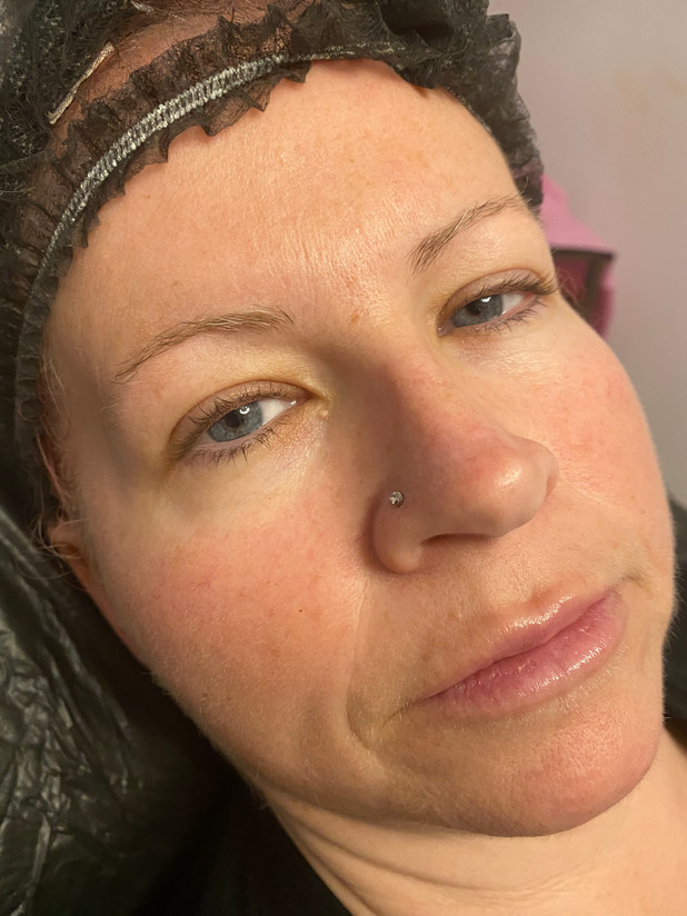 BEFORE - Cosmetic Brow Tattoo