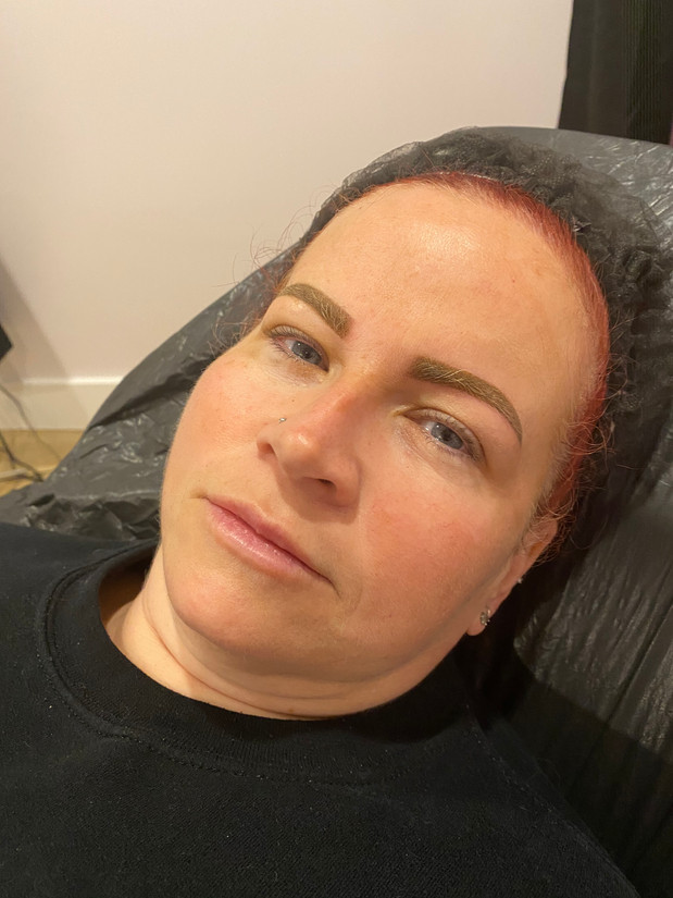 AFTER - Cosmetic Brow Tattoo