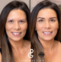 Amazing transformation after Ombre Powder Glow Brow appointment