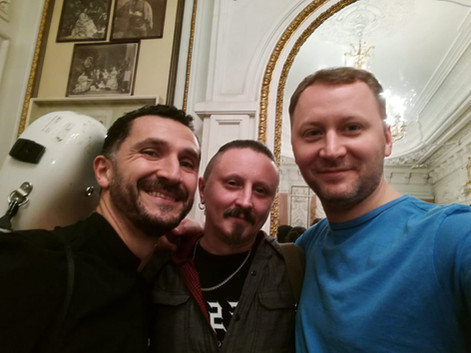 Роберто Таскини, Дмитрий Павлович, Григо