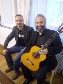 Дмитрий Павлович и Габриэль Гуллен Навар