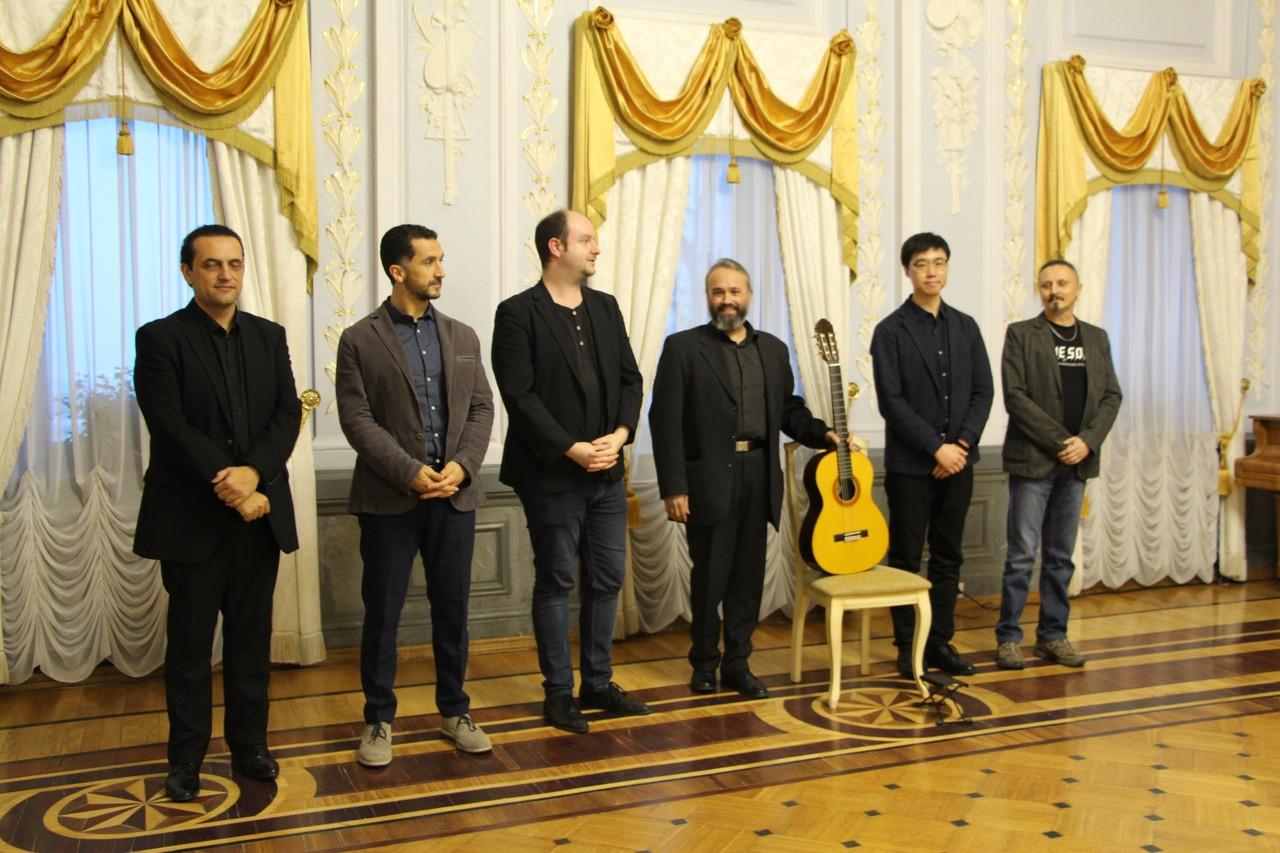 Члены жюри фестиваля_