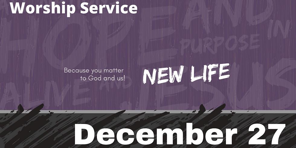 Sunday Morning Service - December 27, 2020