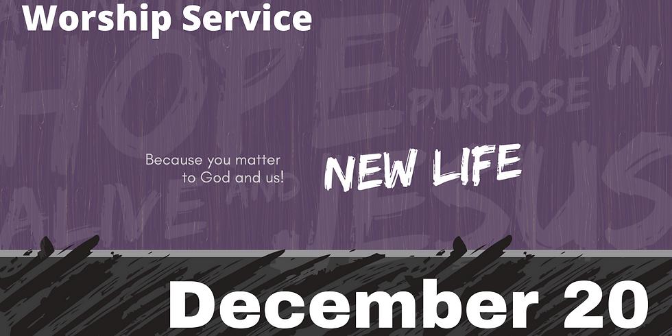Sunday Morning Service - December 20, 2020