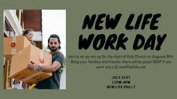 New Life Work Day