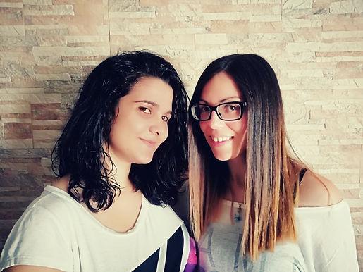 Claudia Cadeddu e Alessia Manca