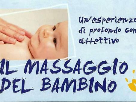 CORSO di MASSAGGIO INFANTILE - Cologno Monzese
