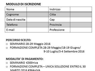 BABYWEARING UNIVERSITY - SEMINARIO E FORMAZIONE COMPLETA - maggio 2016
