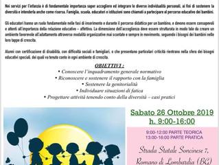 """CORSO DI AGGIORNAMENTO PROFESSIONALE """"BISOGNI EDUCATIVI SPECIALI"""""""