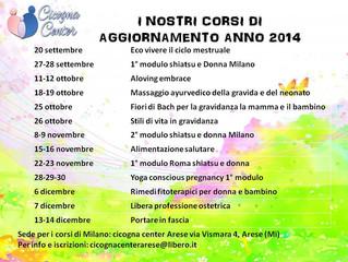 CORSI DI AGGIORNAMENTO ANNO 2014