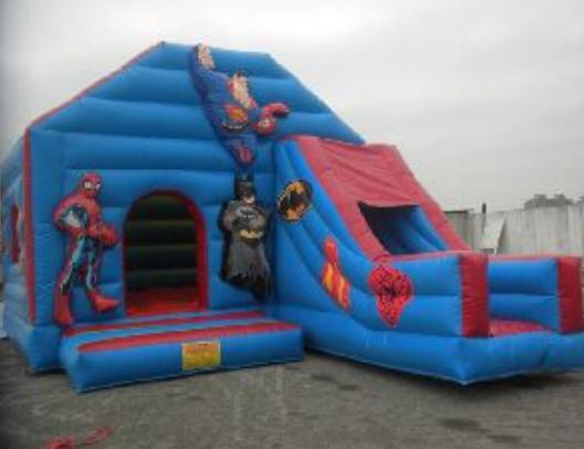 GON020 – GONFIABILE SPIDERMAN E BATMAN