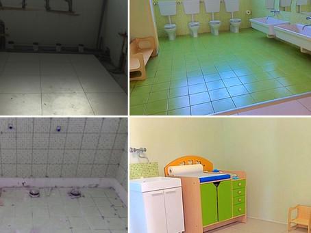 Prima & Dopo - I lavori Cicogna Center