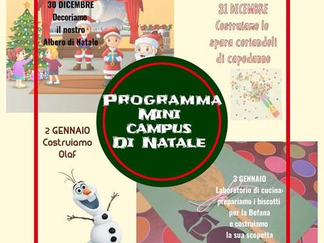 MINI CAMPUS DI NATALE - Morlupo (RM)