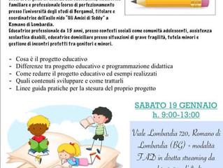 CORSO DI AGGIORNAMENTO PROFESSIONALE - Gli Amici di Teddy