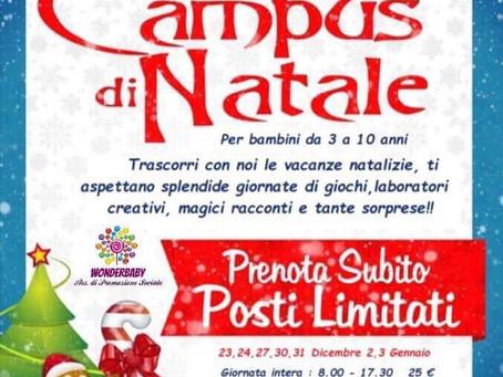 CAMPUS DI NATALE - Truccazzano