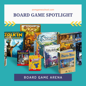 Board Game Arena Board Game Spotlight