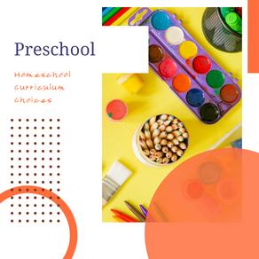 Our Preschool Curriculum