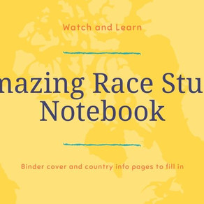 Amazing Race Study Notebook