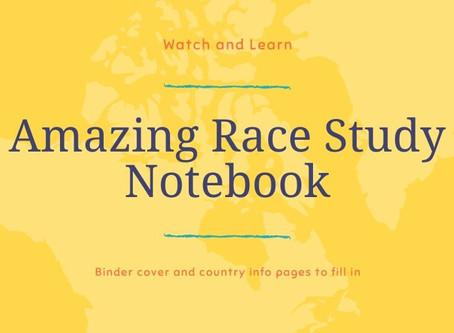 Amazing Race Study Notebook