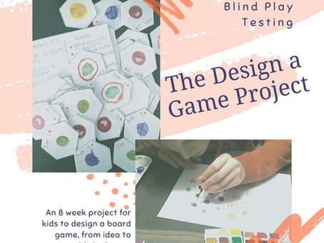 Design a Game Project: Blind Play Testing