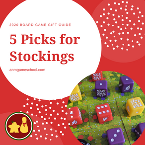 5 Games for Your Stocking