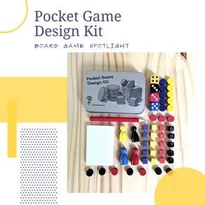 Pocket Game Design Kit Board Game Spotlight