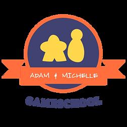 Adam & MichelleLogoWhite.png