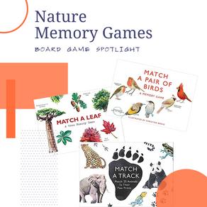 Nature Memory Games Board Game Spotlight