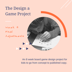 Design a Game Project: Final Adjustments