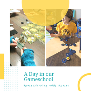 A Day in Our Gameschool