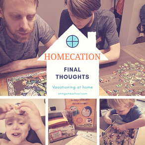 "Summer ""Homecation"" 2020 - Final Thoughts"