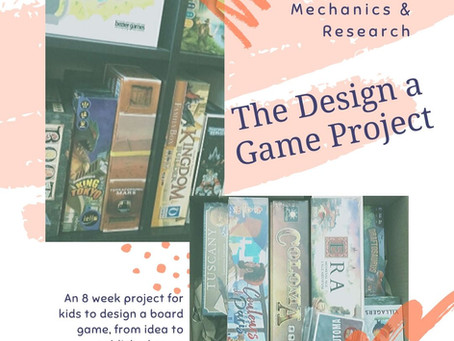 Design a Game Project: Mechanics & Research