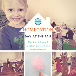 """Summer """"Homecation"""" 2020 - A Day at the Fair"""