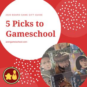 5 Games to Gift Your Gameschool Shelf