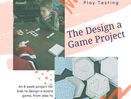 Design a Game Project: Play Testing