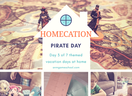 """Summer """"Homecation"""" 2020 - Pirate Day"""