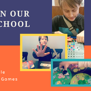 A Day in Our Gameschool: Adam & Michelle