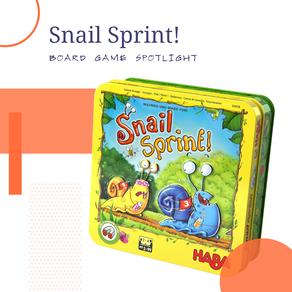 Snail Sprint Board Game Spotlight