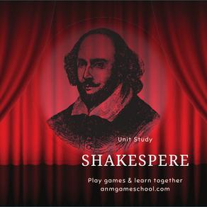 Shakespeare Unit Study
